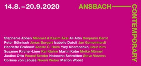 ANSBACH CONTEMPORARY 2020